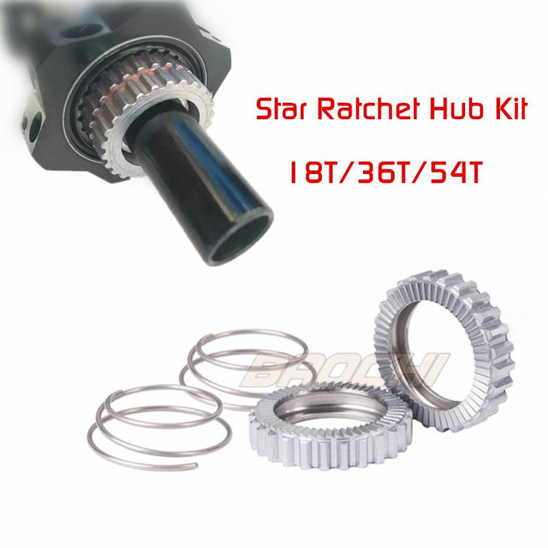 36T//54T Star Ratchet Hub Kit for DT Swiss 180 190 240S 340 350 440 540 hubs